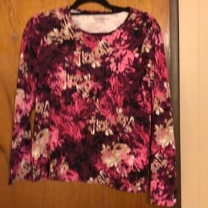 Croft & Barrow blouse size medium